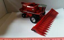1/64 ertl farm toy custom agco white massey Ferguson 9720 rwa duals combine