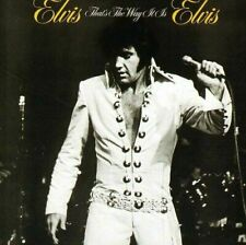 CD ELVIS PRESLEY- THAT'S THE WAY IT IS  - 1970 - BMG USA