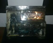 "McFarlane Toys Spawn Nitro Riders Flash Point Silver Action ""COLLECTOR'S CLUB"