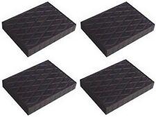 4 X bloc de caoutchouc 110x140x20 mm. pour Pont elevateur - tampons - Italie