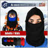 Mens Winter Warm Fleece Balaclava Hat Thermal Snow Ski Neck Face Mask Hood Cap