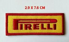 PIRELLI MOTOR SPORT `SEW OR IRON ON PATCH