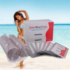 Slimming Heating Detox Clay Body Wraps Firming Weight Loss Cellulite Reduce