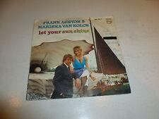 """FRANK ASHTON & MARISKA VAN KOLCK - Let Your Sun Shine 1988 Dutch 2-track 7"""" Juke"""