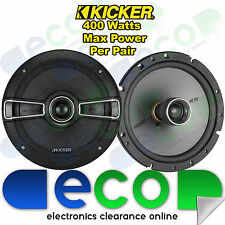 "Renault Megane Break MK1 Kicker 16cm 6.5"" 400 Watt 2 Way Front Door Car Speakers"