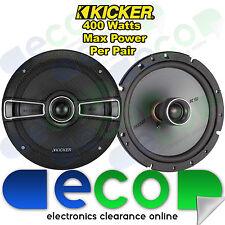 """Renault Megane Break MK1 Kicker 16cm 6.5"""" 400 Watt 2 Way Front Door Car Speakers"""