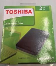 Toshiba Canvio 2TB 2.5-Inch USB 3.0 Canvio Basics External HDD - Black