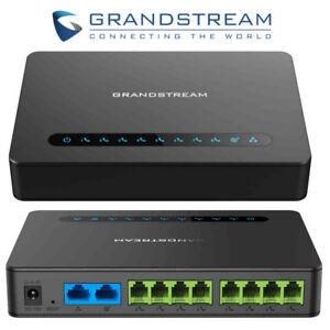 MAKE OFFER!! Grandstream HT818 8 Port VoIP Gateway 8 FXS Port Gigabit NAT Router