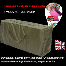 "68"" Large Outdoor Garden Furniture Cushion Storage Bag Pouch Waterproof Outdoor"