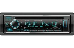 Kenwood KDC-X704 1-DIN Car Stereo CD Receiver with Bluetooth & HD Radio