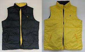 Authentic REVERSIBLE Ralph Lauren Body Warmer/Gilet Jacket, Real Down, L-XL