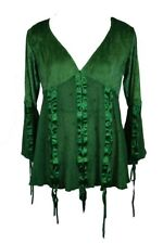 Blouse Green Lace Size 12