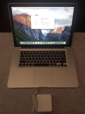 "MacBook Pro 15.4"" Pre-Retina  I7 16 GB RAM 1 TB SSHD ADOBE CS6 FCX OFFICE 2016"