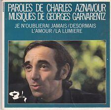 Charles Aznavour-Paroles De 2 vinyl single set