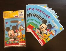 Mickey Mouse Clubhouse party bags 6 NEW +11 no original package