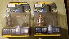BBC Underground Toys Doctor Who Silurian Warrior & Roman Auton AF w/CD Lot (New)