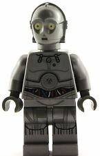 Lego Star Wars 2016 GREY C3PO Minifigure 75146 Christmas Silver C-3PO Minifigure
