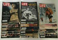Life Mags 1963, Lot 23 Jan/Feb/Mar/Apr/May/Jun/Jul/Aug/Sep/Oct/Nov/Dec, Gd-Acpt