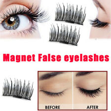 4Pcs Magnetic Eyelashes 3D Handmade Mink Reusable False Magnet Eye Lashes Set