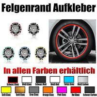 Zierstreifen  Wheel  Stripes für Autofelgen 6MM  mit 13 Farben-felgen design #1