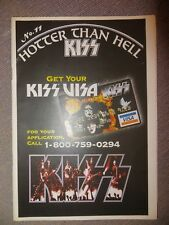 KISS: NUM.11 !!!: HOTTER THAN HELL (GERMANY FANZINE)