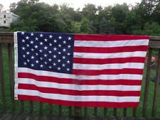 New listing 3X5' Tough-Tex 50 Embroidered Star Flag 2 Ply 100% Spun Polyester New in Box
