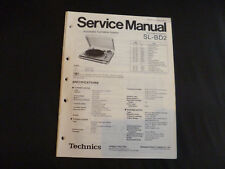 Original Service Manual Technics  SL-BD2