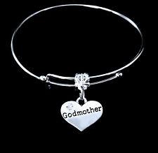 Godmother Bracelet God mother charm bracelet Jewelry gift god mum mothers day