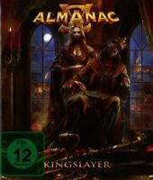 Almanac Kingslayer (2017) 10-track Digibook CD+Dvd-Album-Set Neu / Verpackt