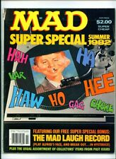  •.•  MAD SUPER SPECIAL • Issue #39 • Summer 1982 • With Flexi-Disc • EC
