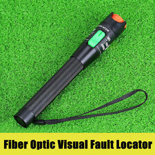 30Km Red Light Visual Fault Locator Fiber Optic Laser Cable Tester Equipment