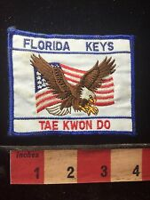 Florida Keys Tae Kwon Do Patch ~ Martial Arts 747