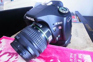 Pentax K200D with lens and battery grip- all in great condition