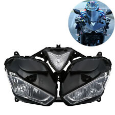 Front Headlight Head Lamp Assembly Clear Lens For Yamaha YZF R3 R25 2013-2018 17