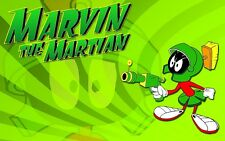 Loony Tunes Marvin The Martian Cartoon Sticker or Magnet