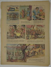 PRINCE VALIANT Full Color SUNDAY PAGE King Features Hal Foster 10/8/1967, #1600