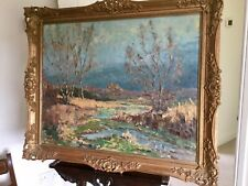 French Impressionist Oil Painting