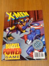 X-MEN MARVEL POWER GAME COMPLETE GAME BOARD INTERACTIVE COMIC US MAGAZINE =
