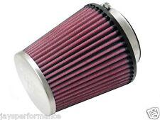 "Kn Universal Filtro de aire (RC-9800) 64MM FLG, 118MM B OD, 89MM T OD, 4-7/8"" H"