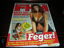FHM EUROPE GERMAN #55 MAY 2005 TERI HATCHER DESPARATE HOUSEWIVES COVER GIRL