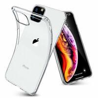 Für Apple iPhone 11 PRO MAX Soft Hülle Durchsichtig Silikon Schutzhülle Case