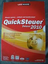 Lexware Quick Steuer Deluxe 2010 + Konz