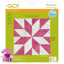 "Accuquilt GO! Fabric Cutting Die 9"" LeMoyne Star Quilting Sewing 55453"