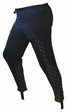 CHEX Leggings Athens Navy Blue Reflective Print Polyester Cycling Unpadded