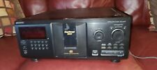 Sony Cdp Cx335 300 Cd MegaStorage Carousel Working No Remote Compact Disc Player