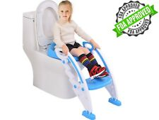 New* Potty Toilet Seat with Step Stool Ladder for 1 to 4 Year Old Boys and Girls