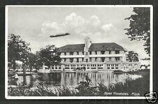 Mook Hotel Plasmolen Zeppelin Limburg Netherlands 30s
