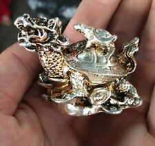 Hand sculpture of the Miao silver statue, turtles SL asd8