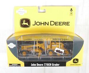 Athearn #77093 John Deere 770CH Grader HO 1:87 Die-cast Construction Model