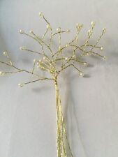Preciosa Spray de 6 mm Perlas en alambre de oro 6 tallos